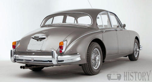 Jaguar Mark 2 rear view