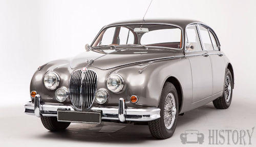 Jaguar Mark 2  240 -340 history
