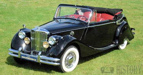 Jaguar - Jaguar Mark V (1948-1951)