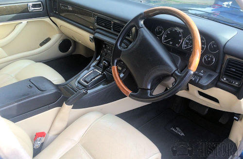 Jaguar XJ X300 interior