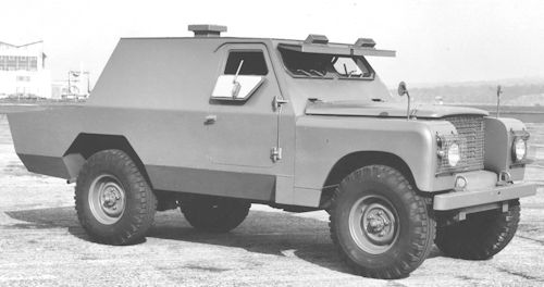 Land Rover Shorland armoured car history