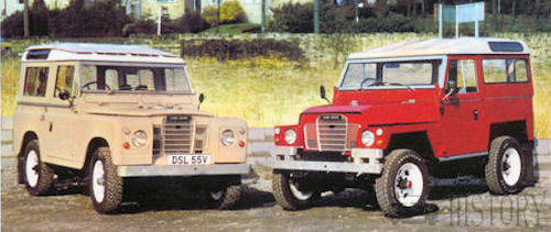 Land Rover Series III versions