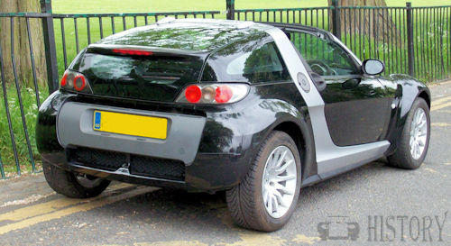 Smart Roadster rear view