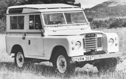 Land Rover Series III swb safari