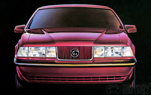 1987 Mercury Cougar 20th Anniversary