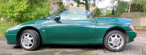 Lotus Elan M100 side view