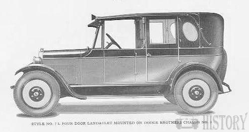 Dodge Shamrock Millspaugh Irish Taxi Cab from 1926