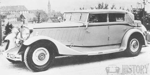 1933 Maybach Zeppelin DS8