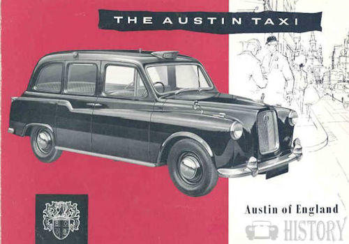 Austin black cab taxi from 1959