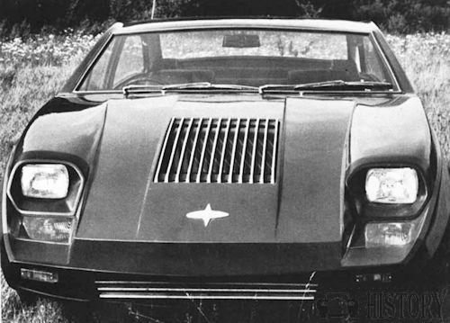 Marcos Mantis front view 1970s