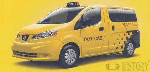 Nissan NV200 Taxi from 2014