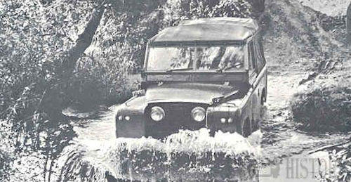 Off-road 4X4 vehicles series 1 land rover
