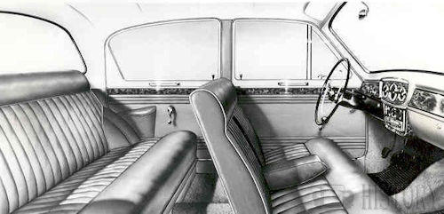 Singer Gazelle IIA to IIIC interior