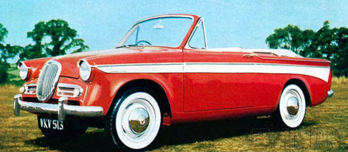 Singer Gazelle IIA to IIIC Convertible