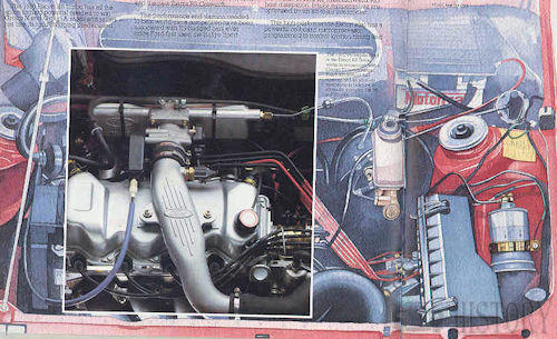 Ford CVH 1.6 turbo engine specs