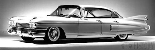 1959 Cadillac Fleetwood 60 Special side view
