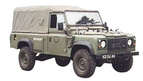 Wolf Land Rover 110