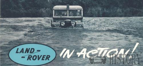 Land Rover Series I in action