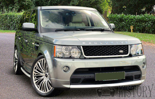 Range Rover Sport First generation facelift