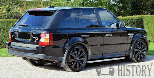 Range Rover Sport First generation from 2005 rear view