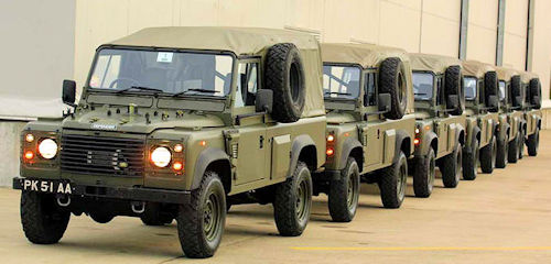 Wolf Land Rover service