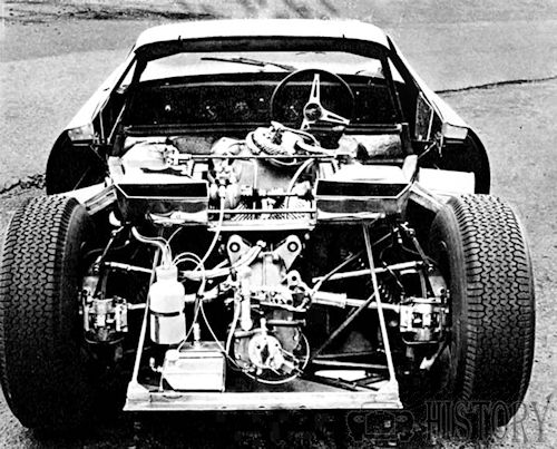 Rover-BRM gas turbine engine Le Mans in 1963