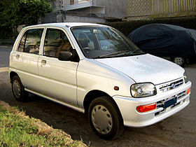 Daihatsu Mira Fourth generation