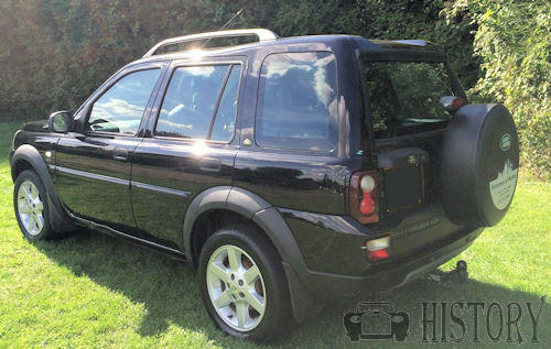 Land Rover Freelander First generation rear view