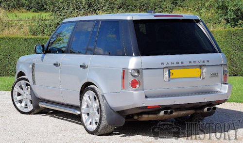 Range Rover Third-generation rear view