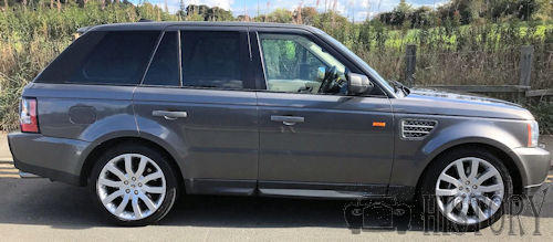 Range Rover Third-generation L322 side view