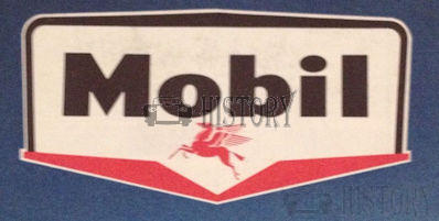 Mobil Oil and fuel Advertising from the 1960s