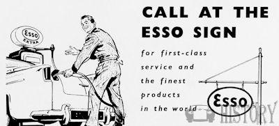 ESSO Advertising from the 1960s