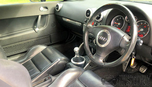 Audi TT Mark 1 First Generation  dash