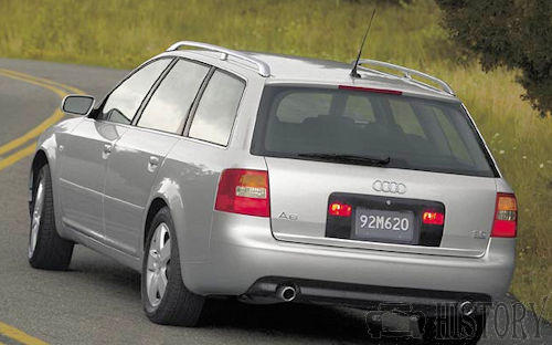Audi A6 Second generation rear view