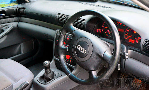 udi A4 First Generation dash view