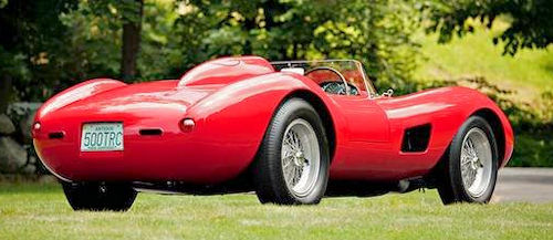 Ferrari 500 TRC rear view 1950s