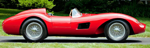Ferrari 500 TRC side view 1957