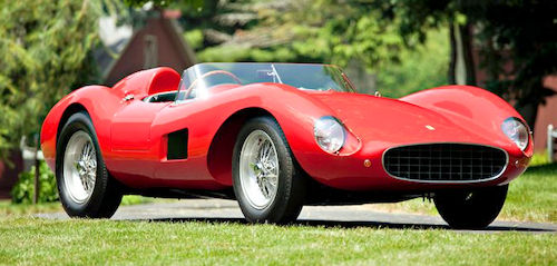 Ferrari 500 TRC range and history