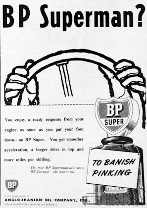 BP Advertising from the 1950s