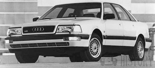 Audi Audi V Typ C - Audi v8