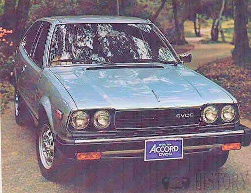 Honda Accord First Generation Range And Hisstory