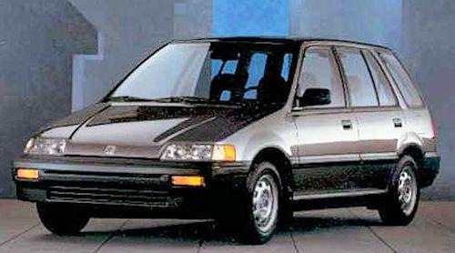 Honda Honda Civic 4th Gen 1987 1991
