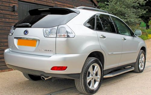 Lexus RX Second generation rear view