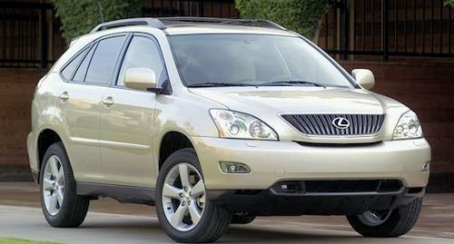 Lexus RX Second generation (XU30)