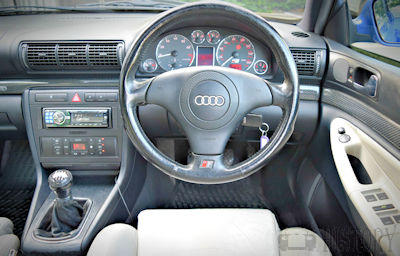 Audi S4 Second Generation dash view