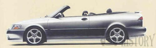 Saab 9-3 First generation convertible