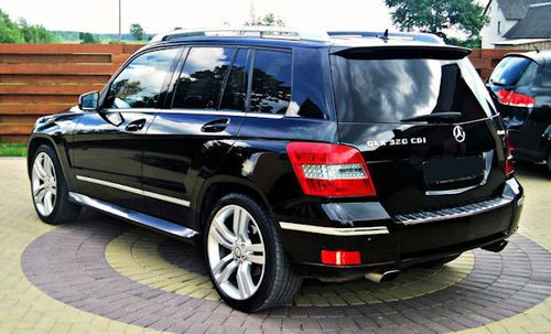 Mercedes Benz GLK rear