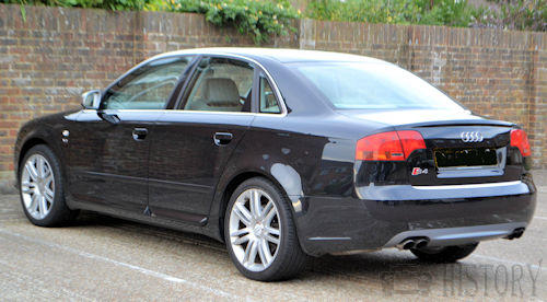 Audi S4 Fourth Generation rear view