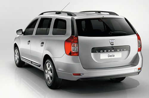 Dacia Logan MCV  rear view
