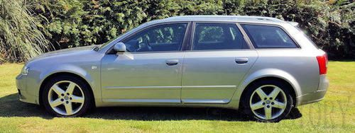 Audi A4 Second Generation B6 estate side